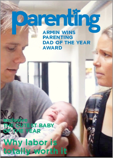 ARMIN WINS PARENTING MAGAZINE DAD OF YEAR AWARD