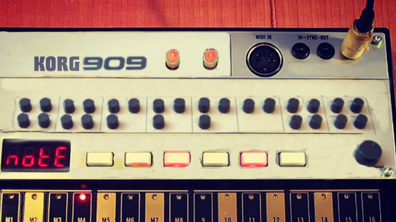 KORG TO ANNOUNCE VOLCA 909 AT NAMM 2014