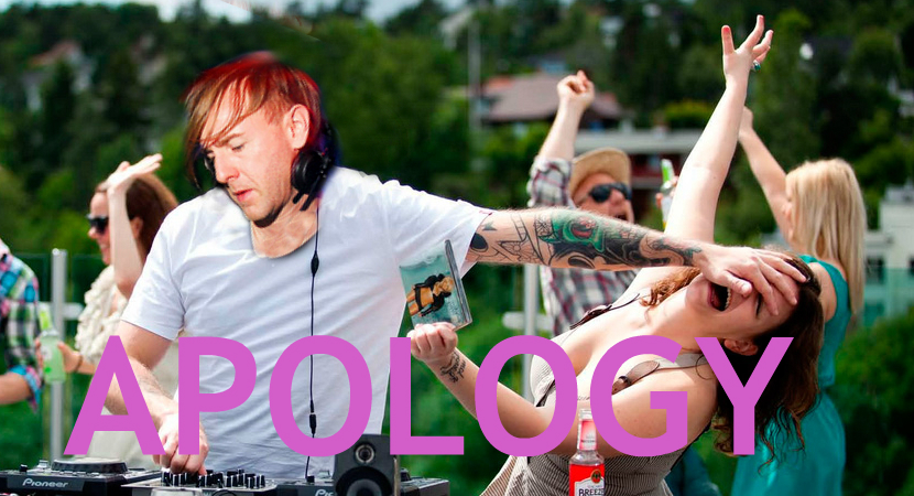 RICHIE HAWTIN OFFERS APOLOGY TO THE UNKNOWN TIME WARP GIRL